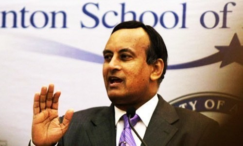 Interpol response awaited on request to arrest Hussain Haqqani