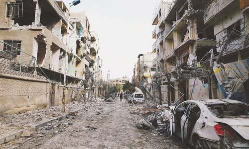 Syrian govt launches assault in Ghouta despite truce