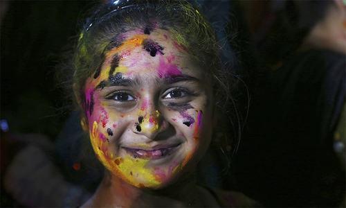 'ایسی ہولی پاکستان میں کم از کم میں نے تو کبھی نہیں دیکھی'