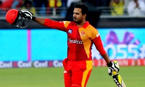 Sharjeel Khan was one of several cricketers punished in spot-fixing scandal last year — PSL