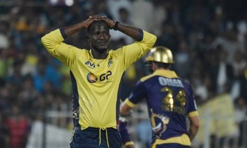 Injured Darren Sammy, Harris Sohail out of PSL 2018 for 'next few days'