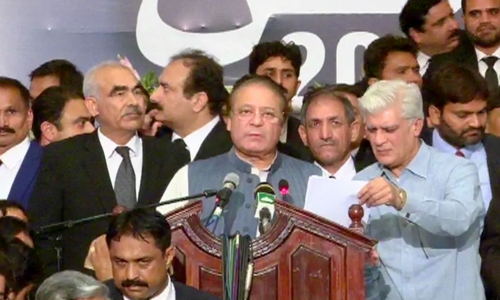 General election to usher in revolution, says Sharif