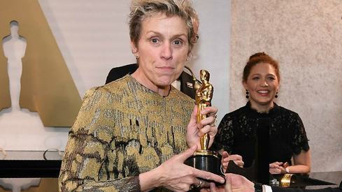 Best Actress winner Frances McDormand reunited with stolen Oscar