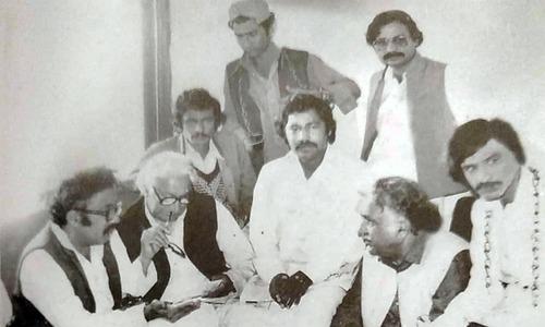 جام ساقی ولی خان اور بدر ابڑو کے ہمراہ