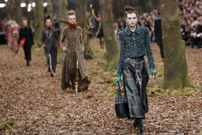 Chanel slammed for cutting down trees for Paris fashion show