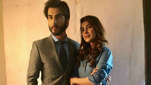 Model Areeba Habib is all set for her TV debut with Imran Abbas