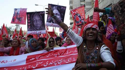 These posters from the Aurat March say everything you wish you could