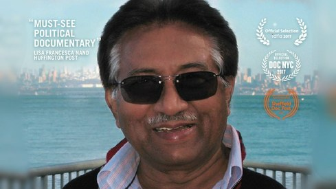 This documentary starring Musharraf has protesters calling for a ban in London