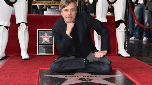Mark Hamill finally gets his star on Hollywood Walk of Fame