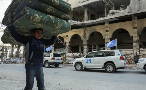 Civilian suffering worse than ever in 7-year Syria war: UN