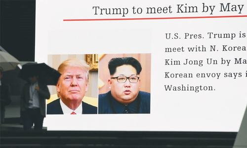 Trump accepts N. Korean leader's stunning offer for nuke talks