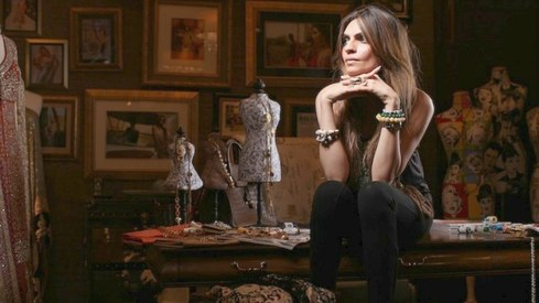 Shehla Chatoor is collaborating with Sophia Webster for her solo show next week