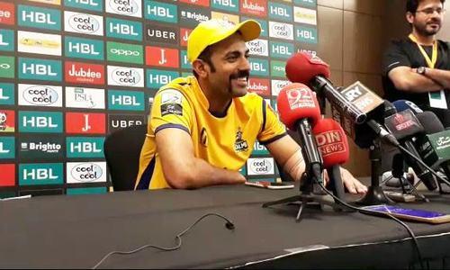 Wahab Riaz acknowledges poor display of cricket by Peshawar Zalmi