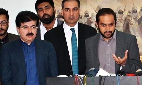 Balochistan independent Sadiq Sanjrani emerges as top contender for Senate chairman