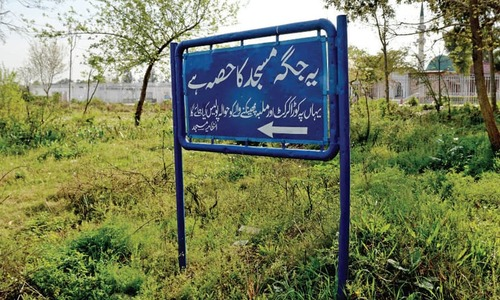 Lal Masjid administration 'reclaims' ownership of Jamia Hafsa plot