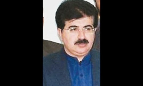 Sadiq Sanjrani: a little-known politician from Chagai