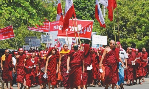 Rise of violent Buddhist rhetoric in Asia defies stereotypes