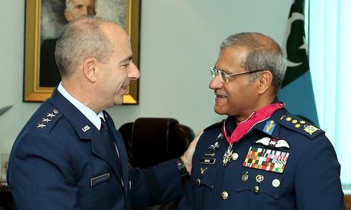 Air Chief Marshal Sohail Aman accorded with US Legion Of Merit