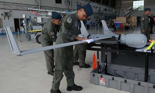 US gives Philippine air force first drones