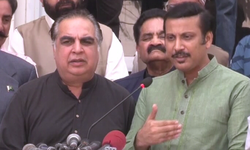 MQM-P announces support for PTI candidate in election for Senate opposition leader
