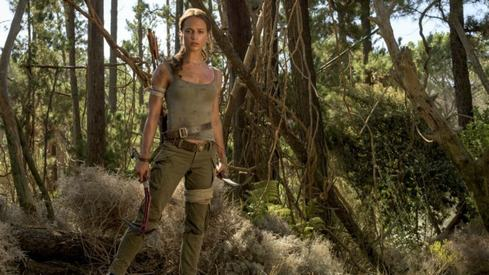 With Alicia Vikander leading, the Tomb Raider reboot isn't half bad