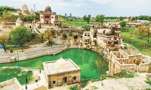 ENVIRONMENT: WATER WOES AT KATAS RAJ