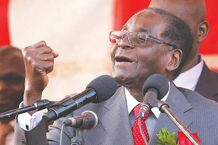 Mugabe says never thought Mnangagwa will betray him