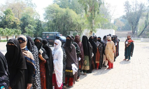 These women from Mianwali don't have CNICs. How will they vote in the upcoming election?