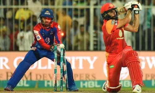 Wickets tumble, Islamabad stumble against Karachi