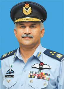 Mujahid Anwar named PAF chief