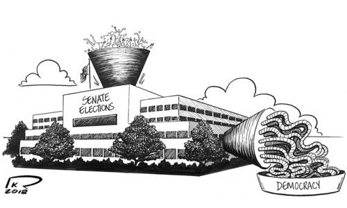 Cartoon: 17 March, 2018