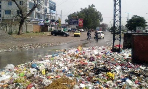 Chief justice gives Karachi authorities one week to clean up city