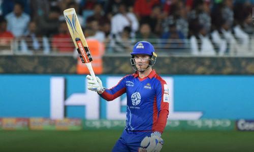 Ingram, Denly rebuild Karachi innings after Sami stars for Islamabad