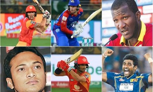 پی ایس ایل پلے آف: کون کون سے کھلاڑی پاکستان آ رہے ہیں؟