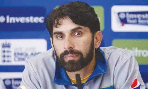 Wrist injury forces Misbah out of remaining PSL games
