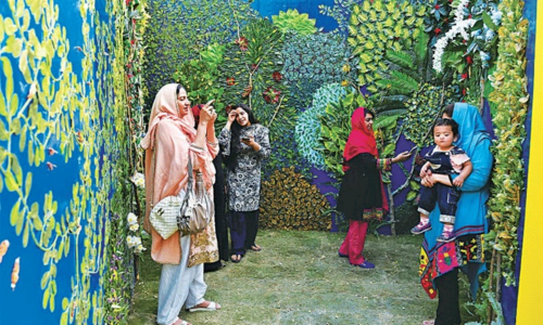 50 foreign and local artists come together for the Lahore Biennale
