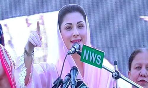 Speeches at Sangla rally: Nawaz, Maryam avoid direct references to judiciary, army