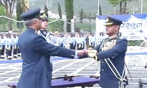 Air Chief Marshal Mujahid Anwar takes over command of PAF