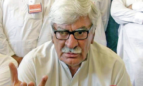 PTI deceived Sami, Sherpao in Senate elections: Asfandyar