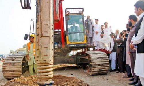 Bus Rapid Transit project starts taking its toll on Peshawar's commercial activities