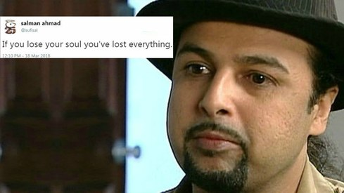 Salman Ahmad is leaving PTI and we don't know what true love is anymore