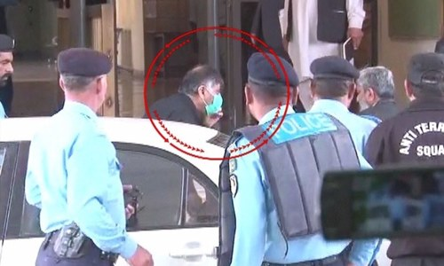 Rao Anwar arrested after finally appearing before SC in Naqeebullah murder case