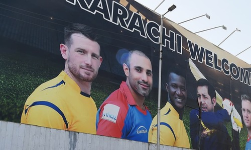 In pictures: Karachi prepares to welcome local, foreign cricket stars for PSL 2018 finale
