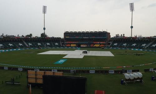 Karachi Kings v Peshawar Zalmi: Toss delayed due to wet outfield