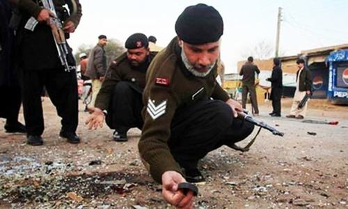 Landmine blast kills two in Balochistan