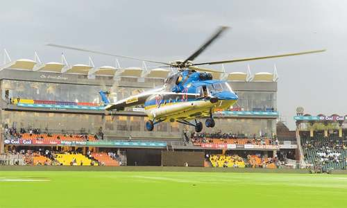 Helicopters not enough as PSL eliminator trimmed down