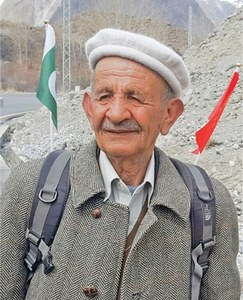 Hunza elder begins long walk in tribute to Chinese doctors