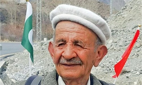78-year-old man from Hunza to walk 100km to thank Chinese doctors for saving his life