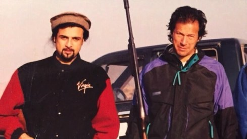So Salman Ahmad and Imran Khan were just on a break after all...