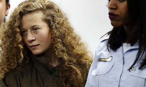 Palestinian teen protester Ahed Tamimi gets 8 months in prison after agreeing to plea deal